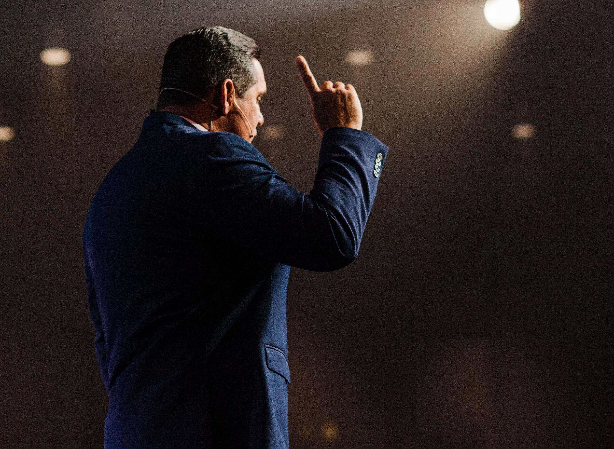 Lead Pastor Greg Dumas