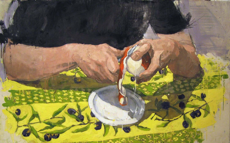 HANDS PEELING ORANGE (2007)