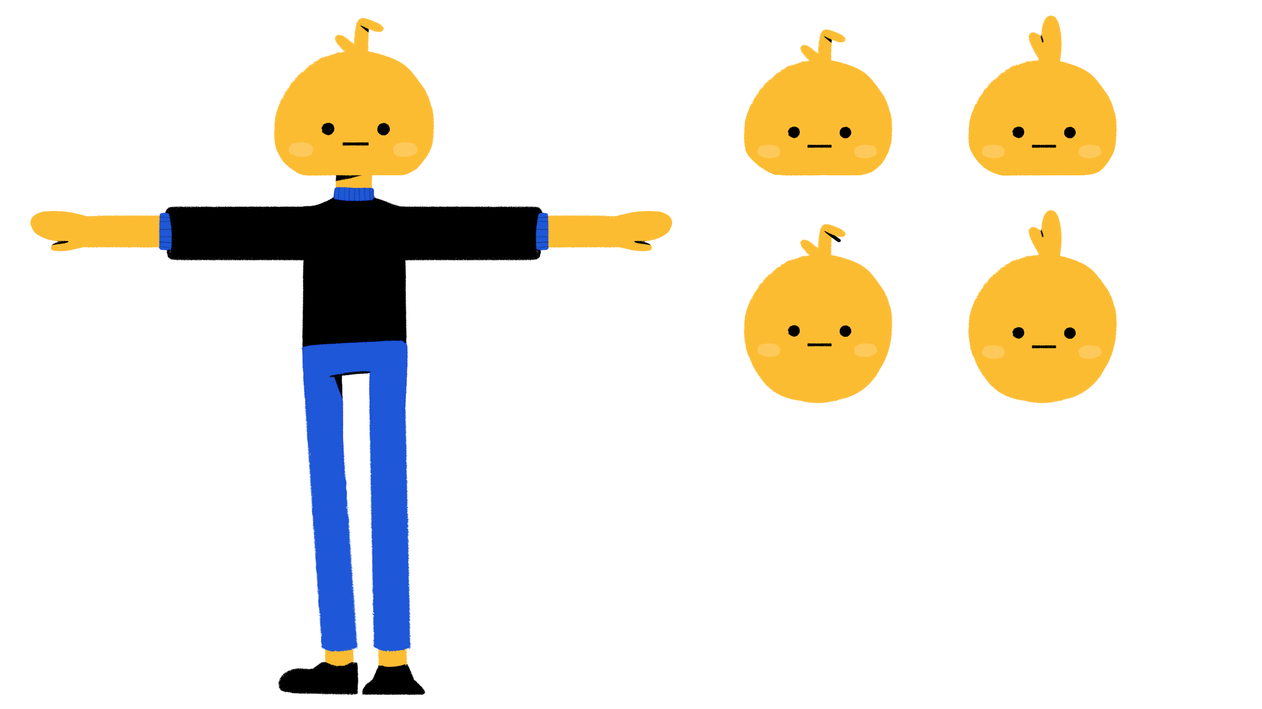 Character Design by Yahira
