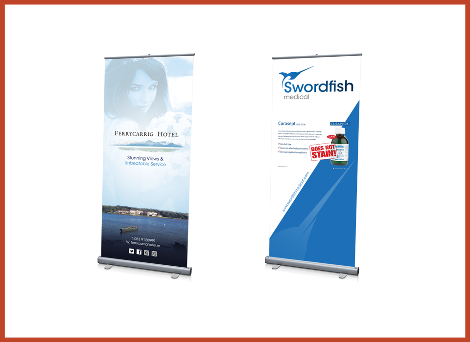 Roll Up Exhibition Banners