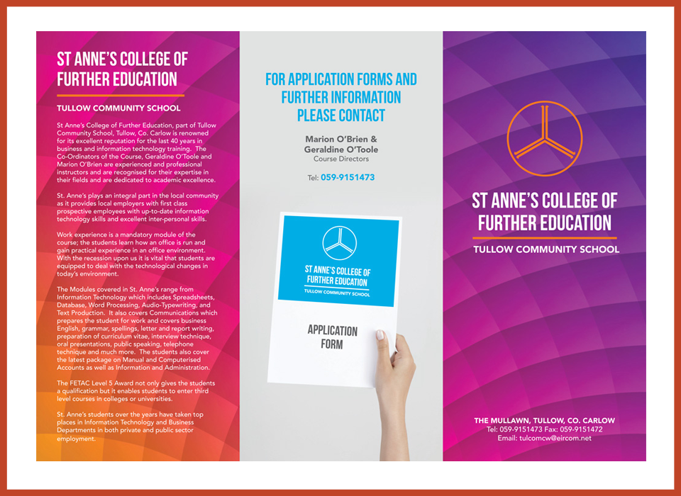 Leaflet Design and Production