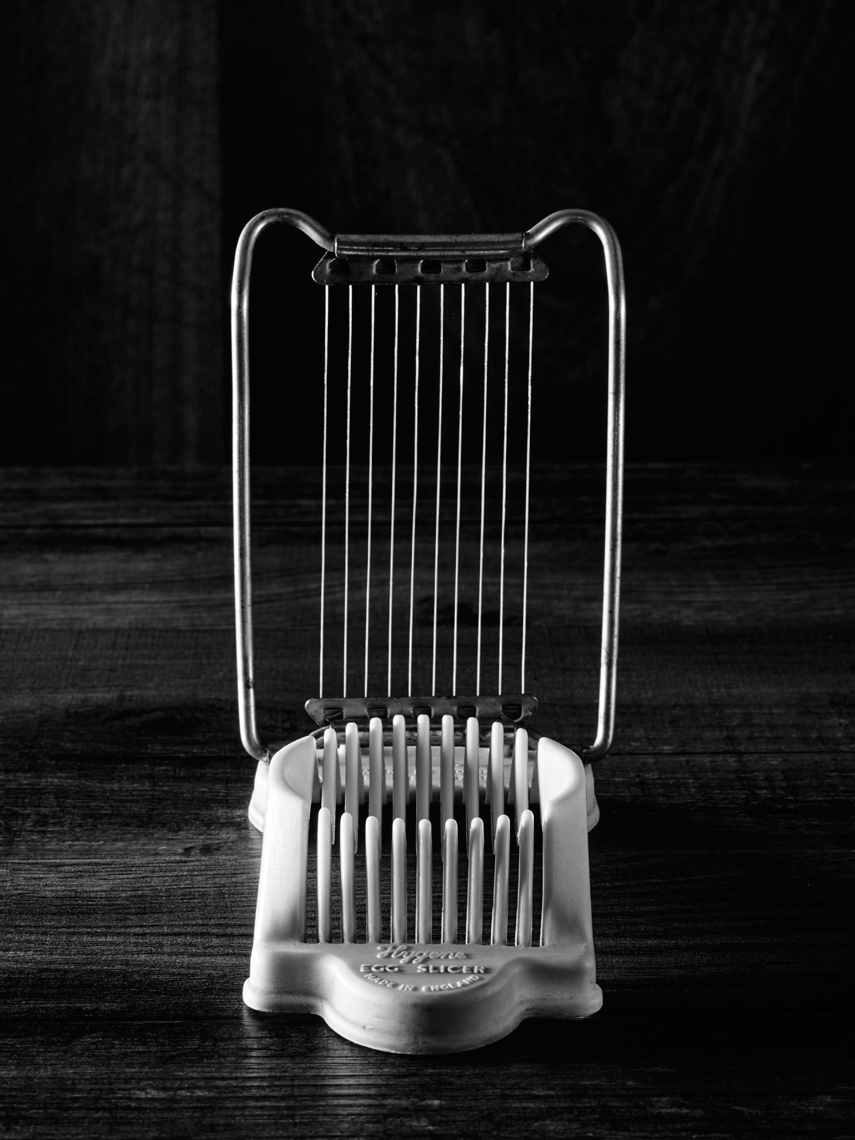 From the series Batterie de cuisine, egg slicer