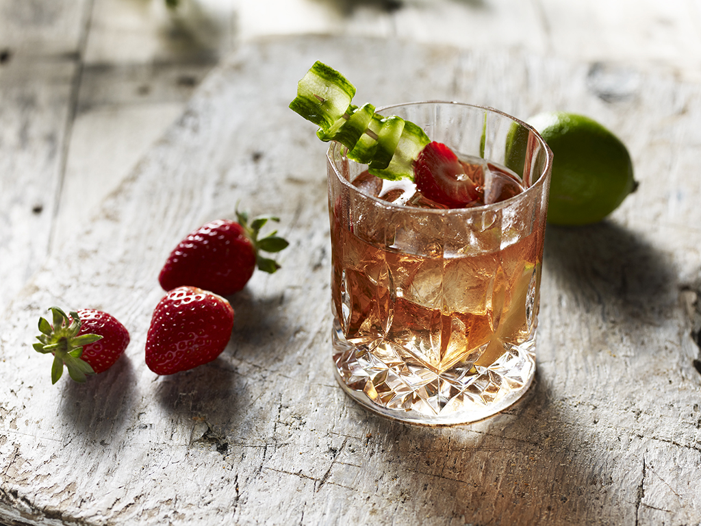 Edgerton's Gin cocktail