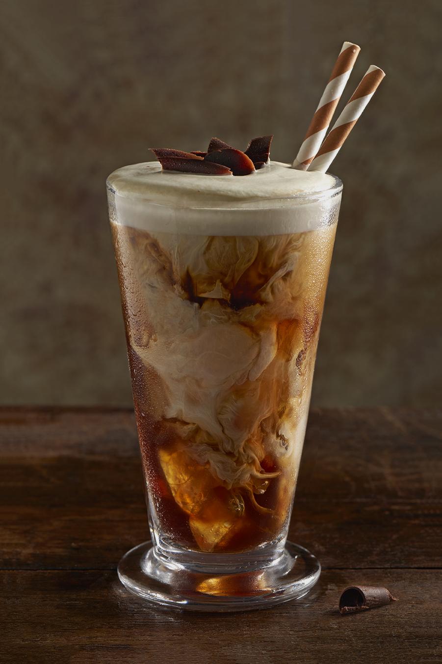 Indulgent iced coffee