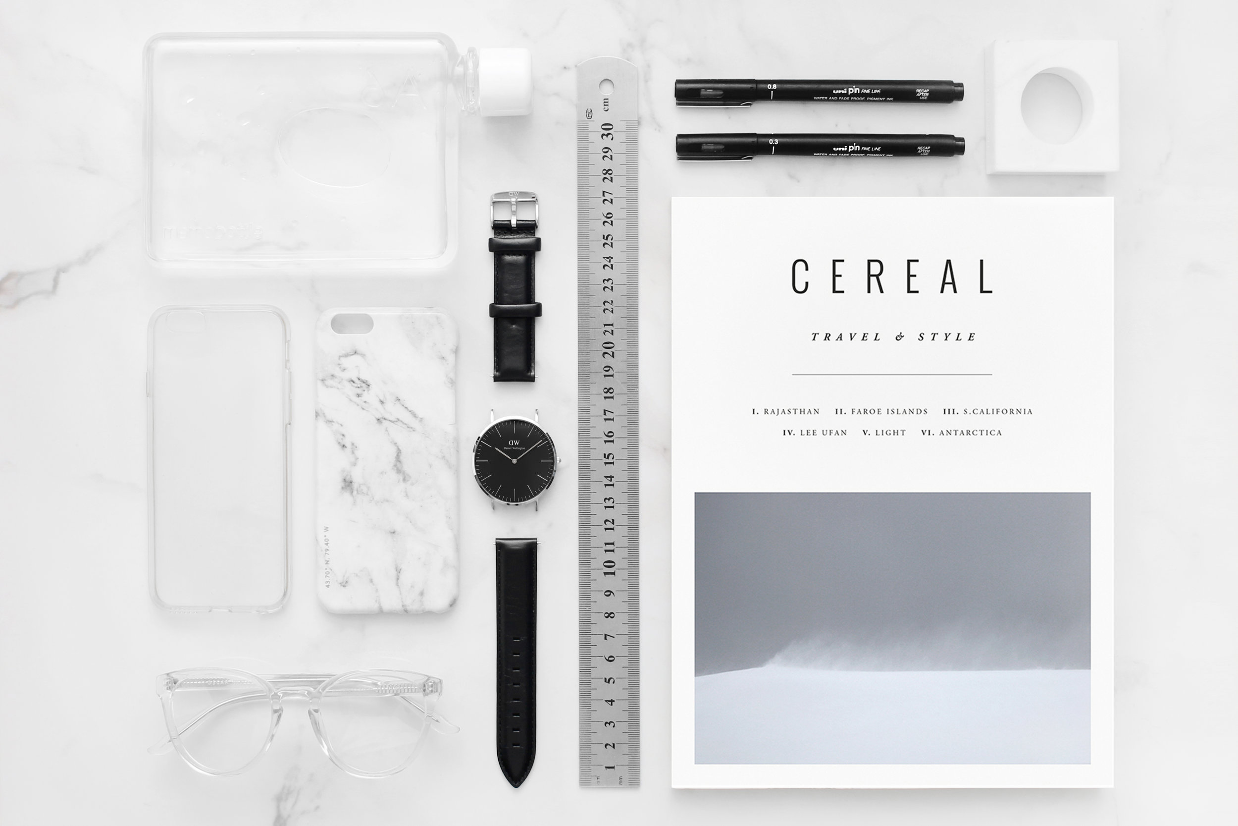 Design  Collaboration with Felony Case Polished Marble iPhone Case