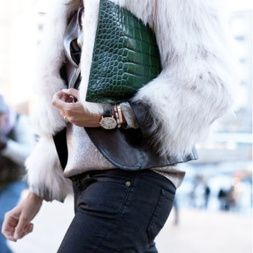 My Statement Clutch Look. GET THE OUTFIT...