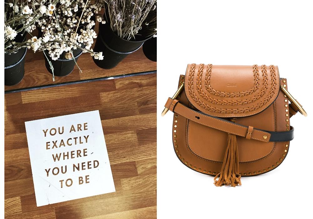 Right-  Chloe 'Hudson' Bag