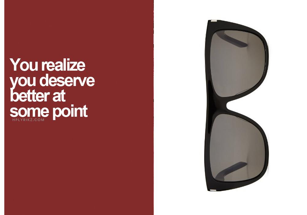Right-  Saint Laurent Sunglasses