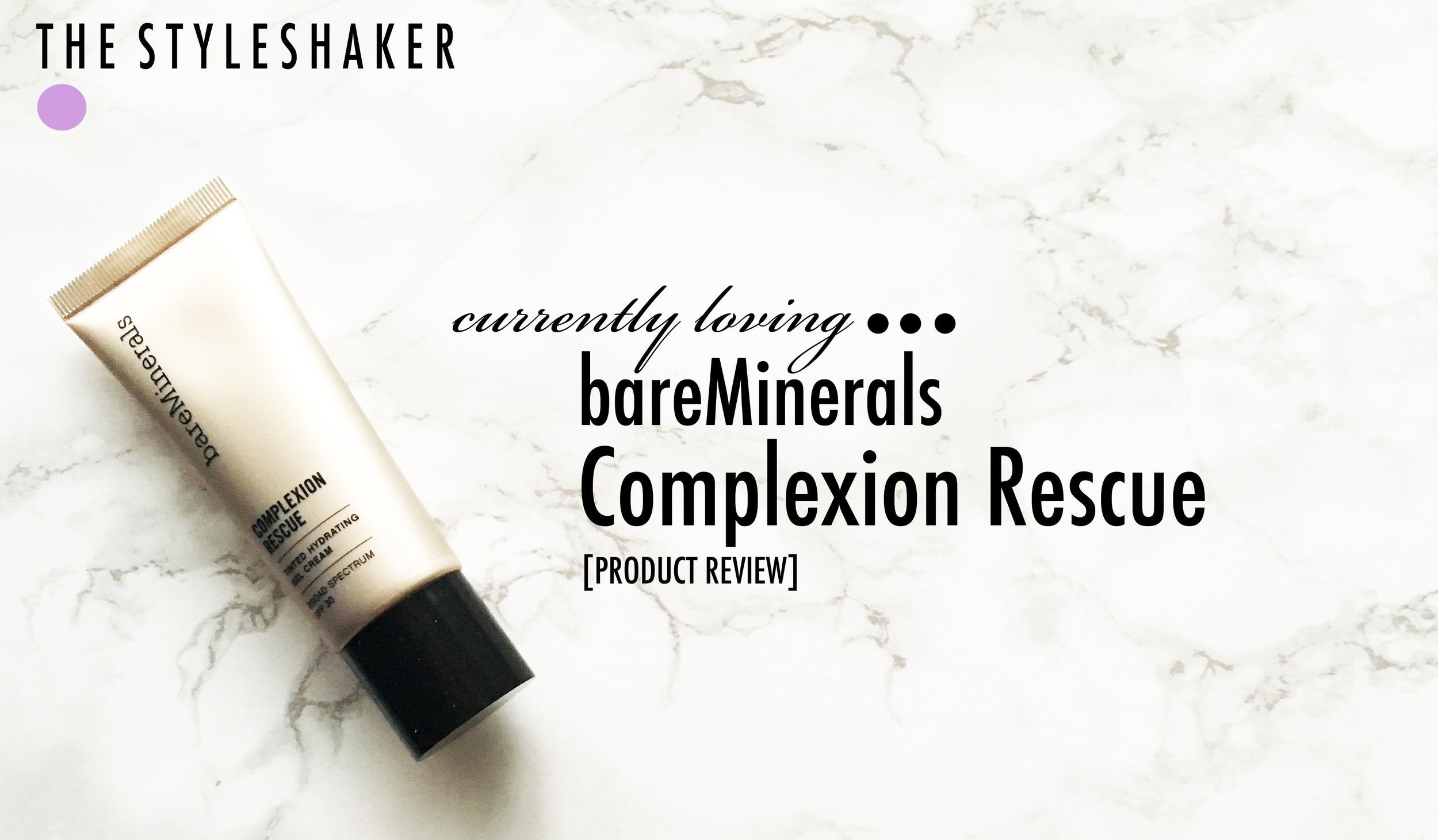 Product review for bareMinerals Complexion Rescue