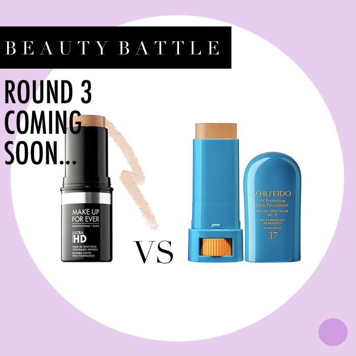 Battle: Shisheido vs. Make Up For Ever