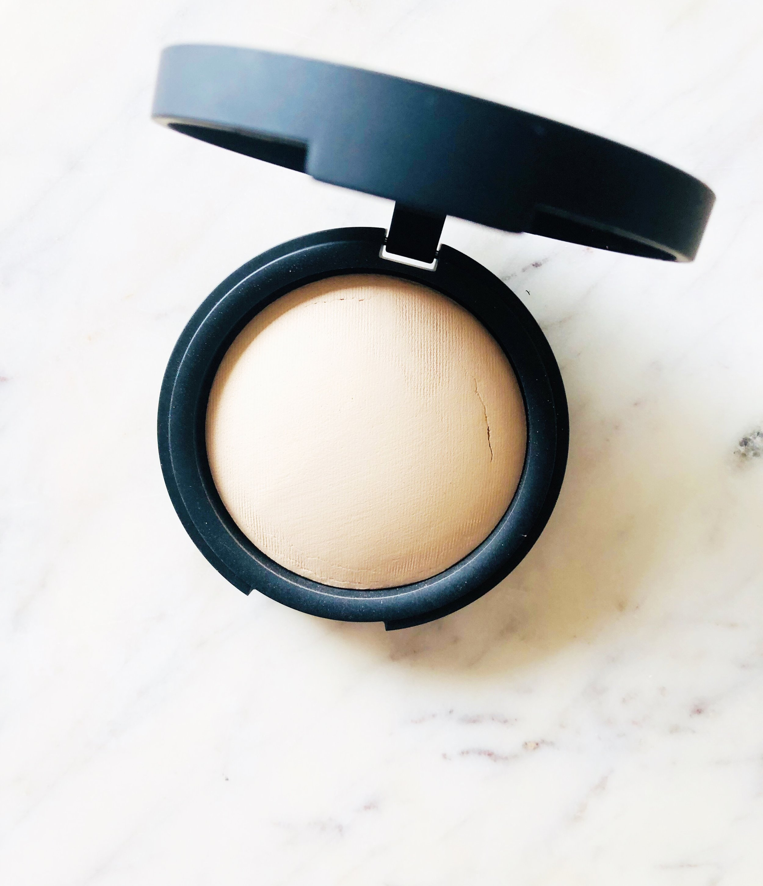 INIKA Organic Baked Mineral Foundation in Grace - $48.99 - Here's the quick SCORECARD breakdown. Each question is rated on a scale of 1 to 5, 5 being the best:1. How do the ingredients look (EWG.org ratings)?- 5: Everything looked good on EWG. There was only one '3' and it was Potassium Sorbate.2. How's coverage?- 5: Skin still looks like skin! This powder is super fine and silky. It offers a light to medium coverage, and didn't look 'cakey' on my skin at all.3. Does it last?- 4: It stuck around for the entire day when applied on top of moisturizer.4. Is it non-irritating?- 5: No issues here!5. Does it build and blend well with other products?- 5: Absolutely. It evens out with every layer, and doesn't sit on top of the skin. Pretty amazing!6. Is the shade range inclusive?- 4: Having 12 shades available is a solid start. I hope it keeps expanding as the brand grows.7. How conscious is the brand? 4- Cruelty-free, sustainable, etc.- All I need now is glass or more sustainable packaging!FINAL SCORE:32/35