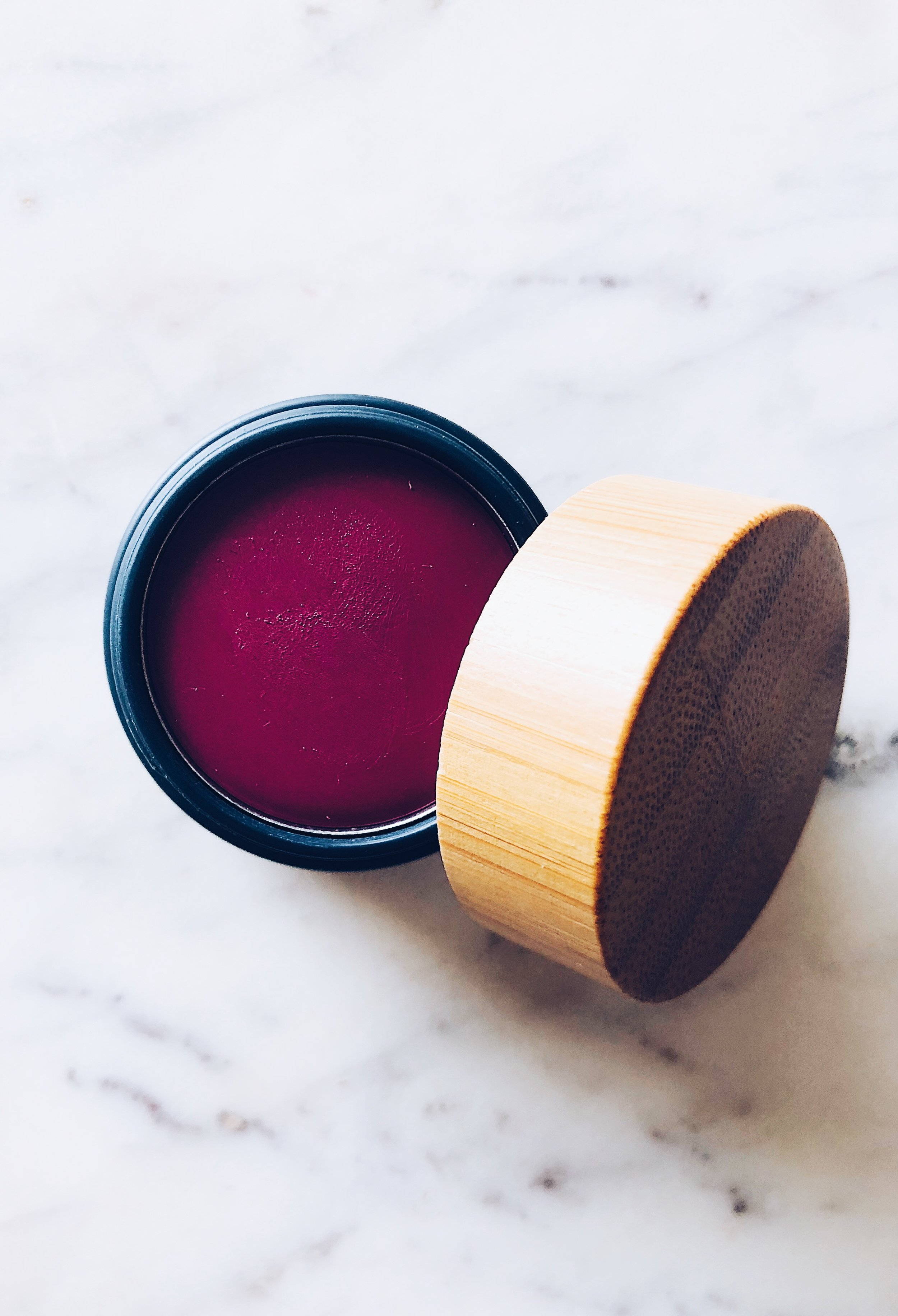 The Organic Skin Co. Cheeky Lips in- $39.00 - Here's the quick SCORECARD breakdown. Each question is rated on a scale of 1 to 5, 5 being the best:1. How do the ingredients look? What's inside?- Looking super solid. There are a few pigments that rated higher on EWG (for the 'velvet' color I have it in), see below.2. How is the color payoff?- 4: So solid. The pigment here is amazing and such a small amount really has a major impact.3. Does the color last?- 4: Yes. It almost stains the lip and stays there for awhile. It's a drier texture, less slick, silky and glossy, so it blends and sinks right in!4. Does it dry out lips?- 4: I liked using something underneath like the Cocokind Macabeet balm. I need that extra moisture, but it didn't dry out my pout. It wasn't super emollient either. I'd say it's in the middle with super-saturated color that can be pressed onto lips/cheeks to create a look.5. How's texture? Does it apply smoothly?- 4: Like I mentioned, it's a bit less-emollient and silky in texture, which helps make it a solid multi-tasker that won't look greasy. It works well over a lightweight moisturizer on cheeks!6. How is the scent? Is it overwhelming?- 5: Not at all. There's not a detectable or overpowering scent. No headaches here!7. How conscious is the brand? 5- I rarely give a '5' for this. Check out their site! Major 'wow' factor on the combo of being cruelty-free, vegan, recyclable, offering refills, and the brand keeps the environment top of mind by planting trees for every product sold! Job well done.FINAL SCORE:26/30