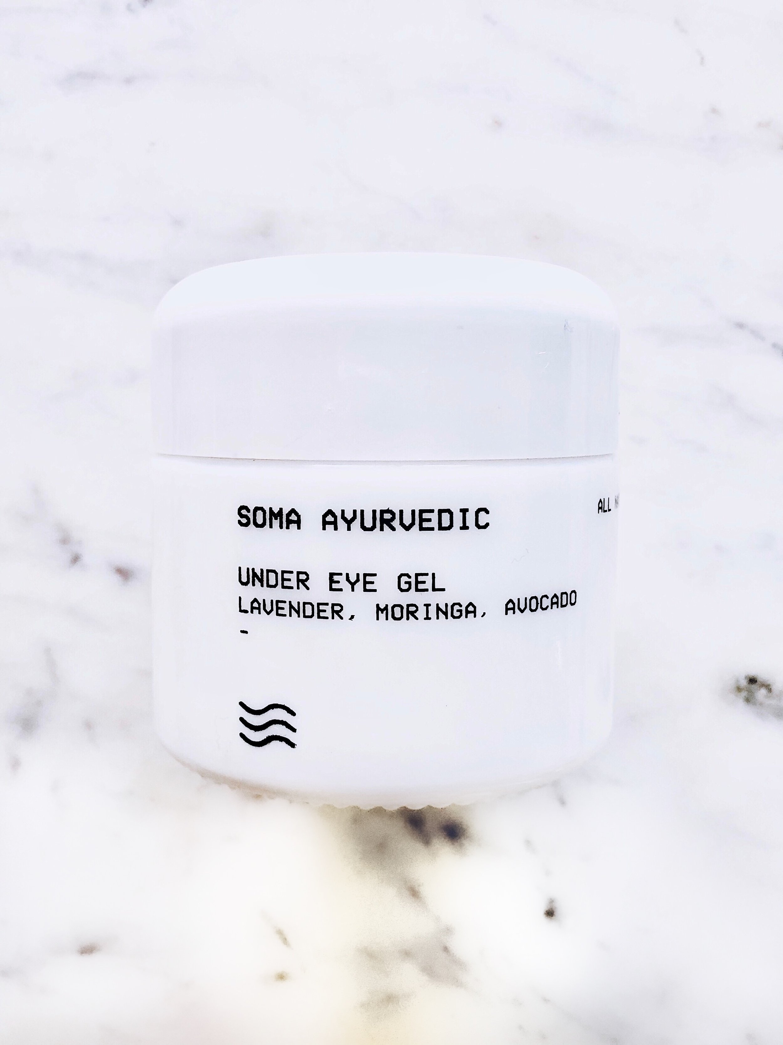 Soma Ayurvedic Under Eye Gel- $98.00: - Here's the quick SCORECARD breakdown. Each question is rated on a scale of 1 to 5, 5being the best:1. How do the ingredients look? What's inside?- There's one iffy ingredient- details below!2. How's the application? Let's talk texture.- 4: It's a nice gel-like texture. I could feel it cooling and tightening upon application. Quick tip: it doesn't work well under makeup, or it didn't for me. I found it pilled a bit.3. How is the scent?- 4: Totally pleasant and not overwhelming.4. Is it non-irritating?- 3: It's ok. The first couple of applications I applied a bit more than needed and my skin wasn't super happy with that. Less is more here.5. Performance: does it do what it promises to do?- 2: I saw minimal change in wrinkles, circles, bags, etc.6. Is this a consciously-created product? 5- 100% yes! Vegan, cruelty-free, and so much more. The mission behind the brand is commendable and the packaging is both thoughtful and sustainable.7. Would I buy it again? 2- Unfortunately, no. I need to have seen better results to invest in this eye gel. I'm just not sold on eye creams having significant impact, yet. If I find one that performs, I'll shout it from the rooftops! I think they're best as lightweight, preventative moisture, and I have better, less-expensive options for this.FINAL SCORE:23/30