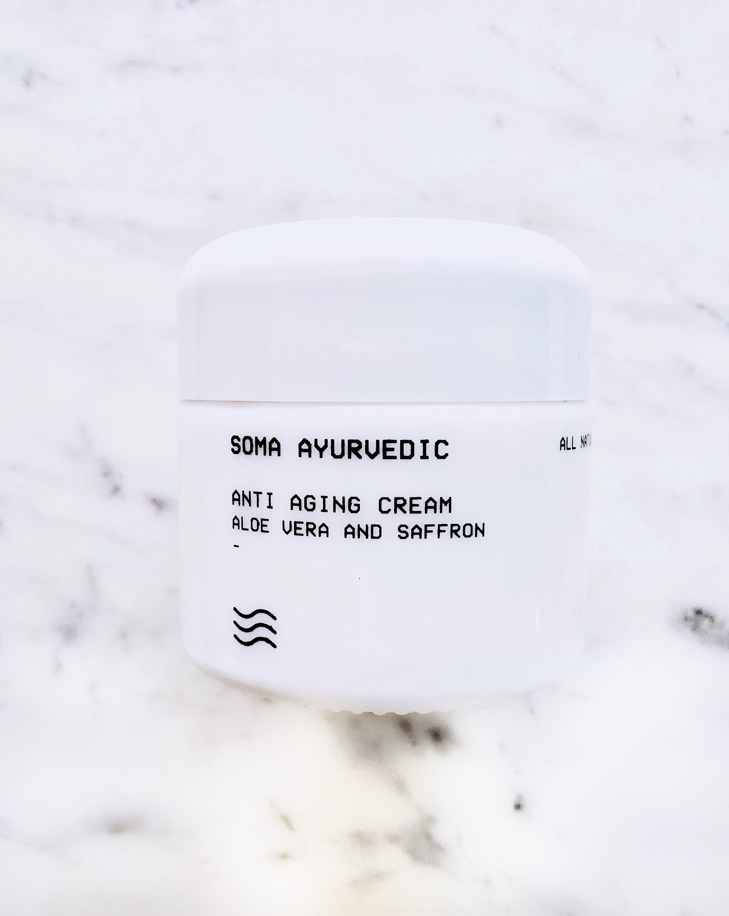 Soma Ayurvedic Anti Aging Cream- $68.00: - Here's the quick SCORECARD breakdown. Each question is rated on a scale of 1 to 5, 5being the best:1. How do the ingredients look? What's inside?- Really fantastic, squeaky 'clean' based on the research I've done. Takes a 'less is more' approach for sure!2. How's the application? Let's talk texture.- 5: This is a very thick, rich cream that soaks in and surprisingly, did not impart any oiliness. I loved how deeply moisturizing this felt!3. How is the scent?- 3: It's not subtle :) If you have issues with strong scents, this may not be for you. I adjusted to the strong aloe scent after a few applications.4. Is it non-irritating?- 5: My skin was not irritated by this after applying once a day for two weeks.5. Performance: does it do what it promises to do?- 3: It left my skin feeling very hydrated and silky smooth. I'm not so sure about added elasticity and didn't see a big impact on signs of aging like wrinkles.6. Is this a consciously-created product? 5- 100% yes! Vegan, cruelty-free, and so much more. The mission behind the brand is commendable and the packaging is both thoughtful and sustainable.7. Would I buy it again? 4- This is a dense and rich cream that I'd consider purchasing (this was a gift, but my review is honest) this cream during harsher, winter months!FINAL SCORE:25/30