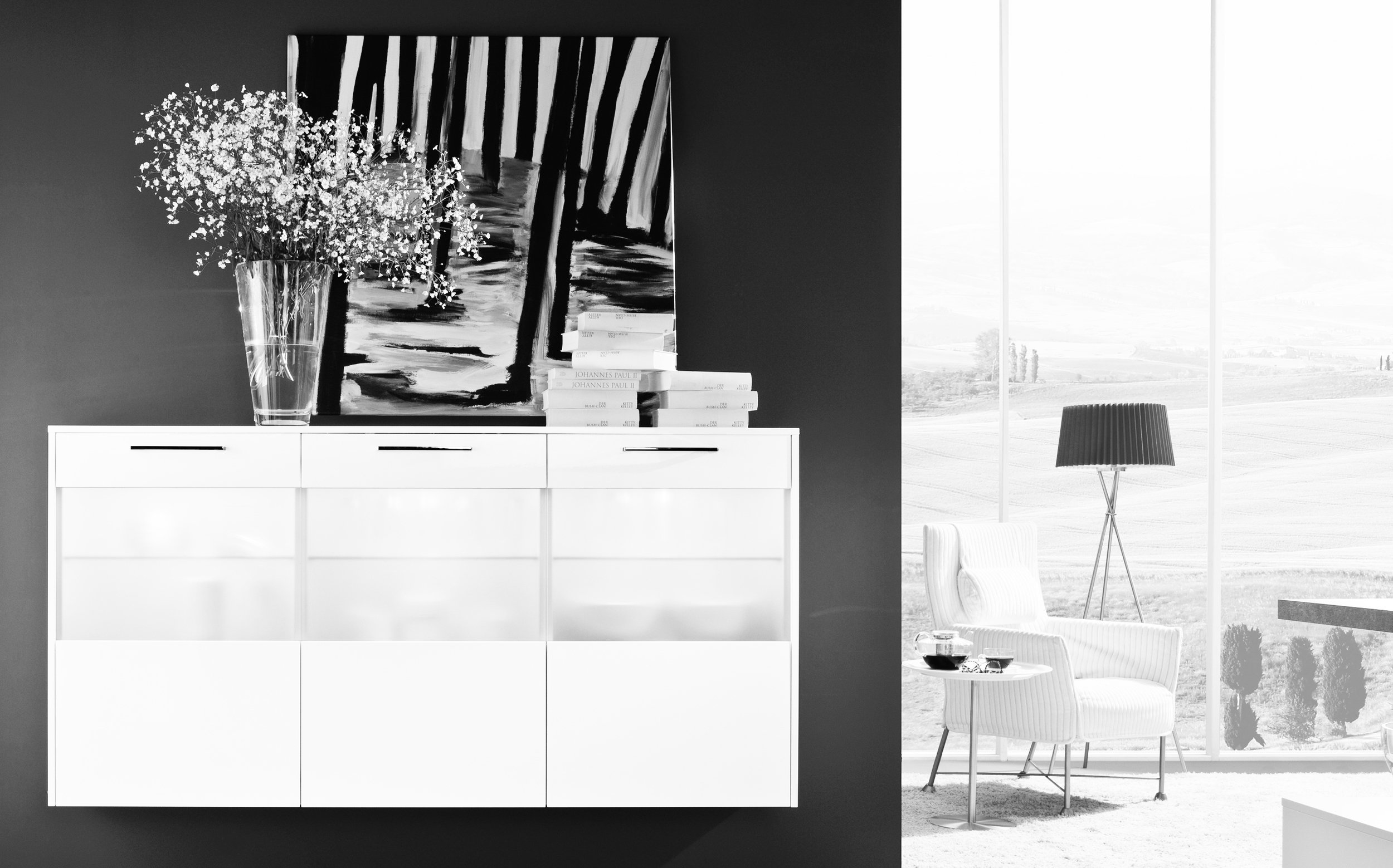 Lumos | Stratos High Gloss White Laquer