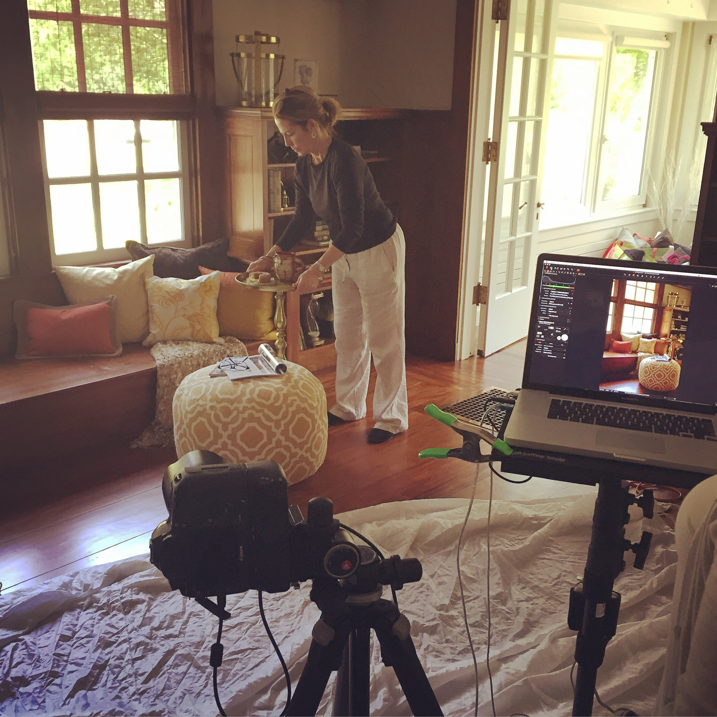 Awesome day shooting for Homegoods