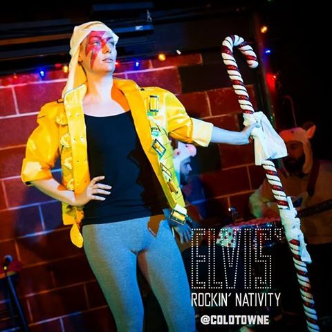 I swear to Bowie (who really is God if you think about it) you will get hooked on this show. Elvis' Rockin' Nativity Saturdays at 8:30 through Dec 17 ColdTowne.com for tix