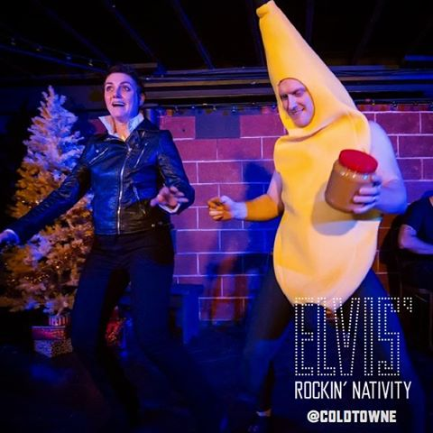 Might want to buy tix for you and your best friend to Elvis' Rockin' Nativity at ColdTowne.com because they are going fast!