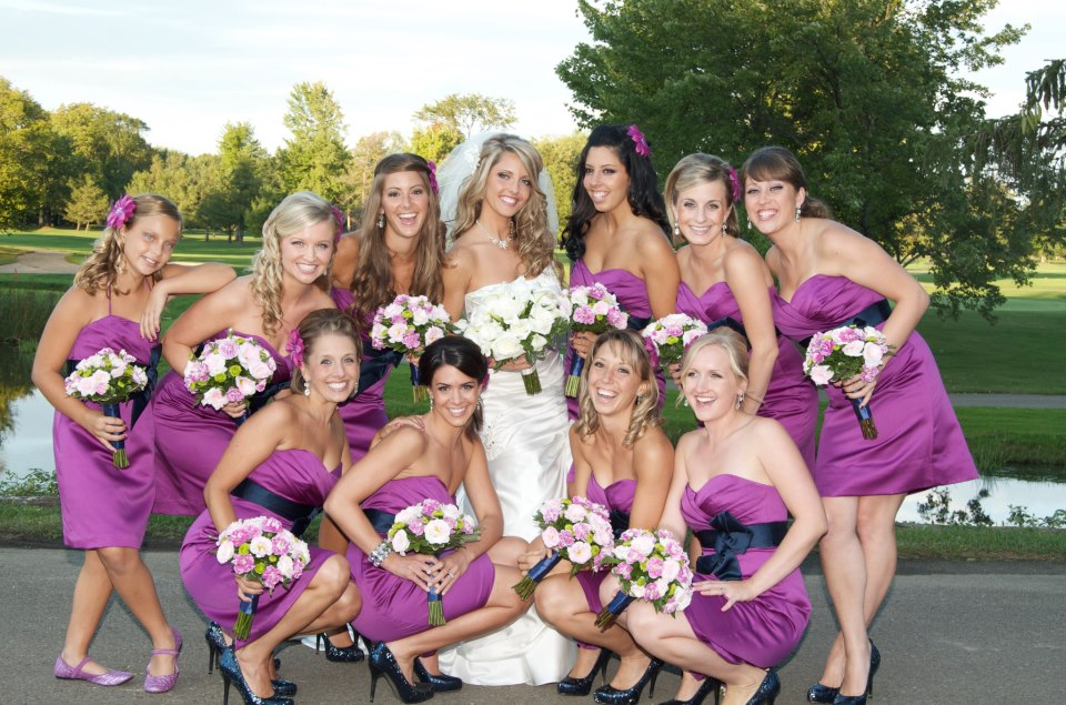 Heather's Bridal Party
