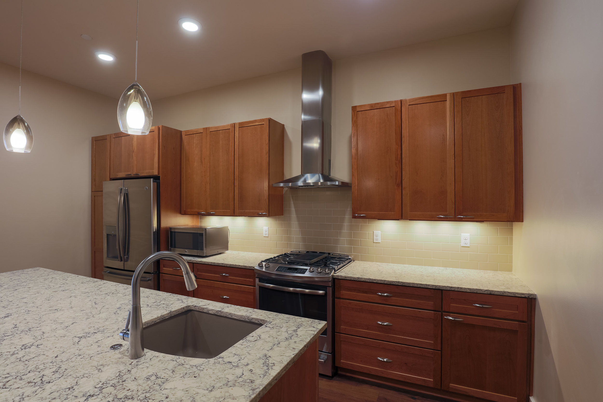 MINERS POINT  | 701 12th Street | Kitchen| Sold & Occupied Unit