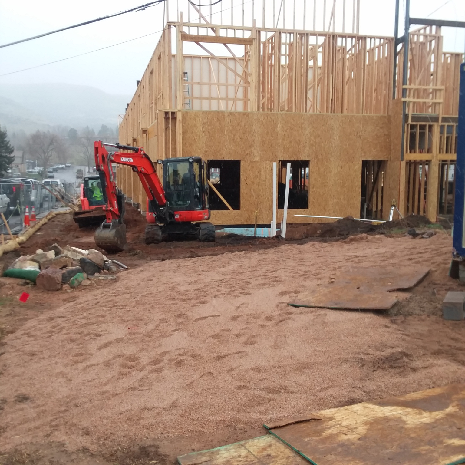 FOSSIL POINT | 615 24th Street | Golden, CO | Framing Continues