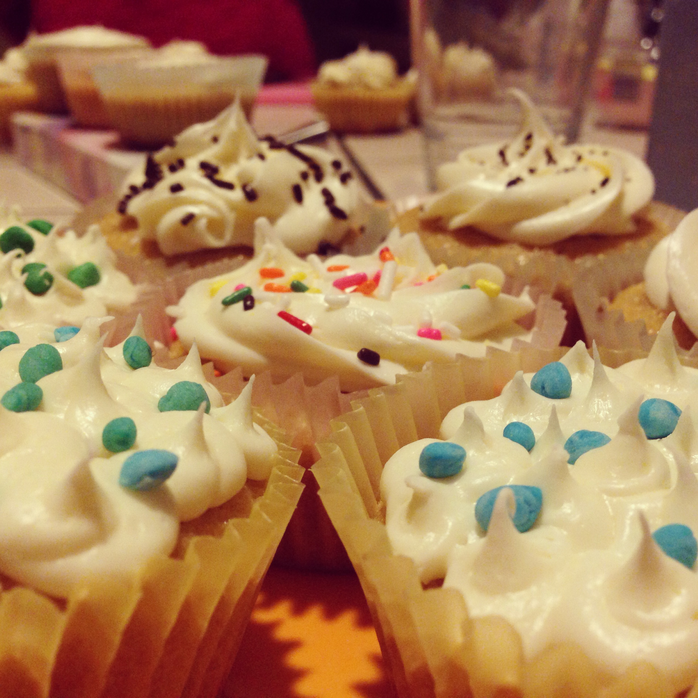Jacqueline's cupcakes, an art form and sweet treat.