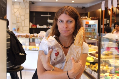Gluten-free? Not for me. I'm in Paris!