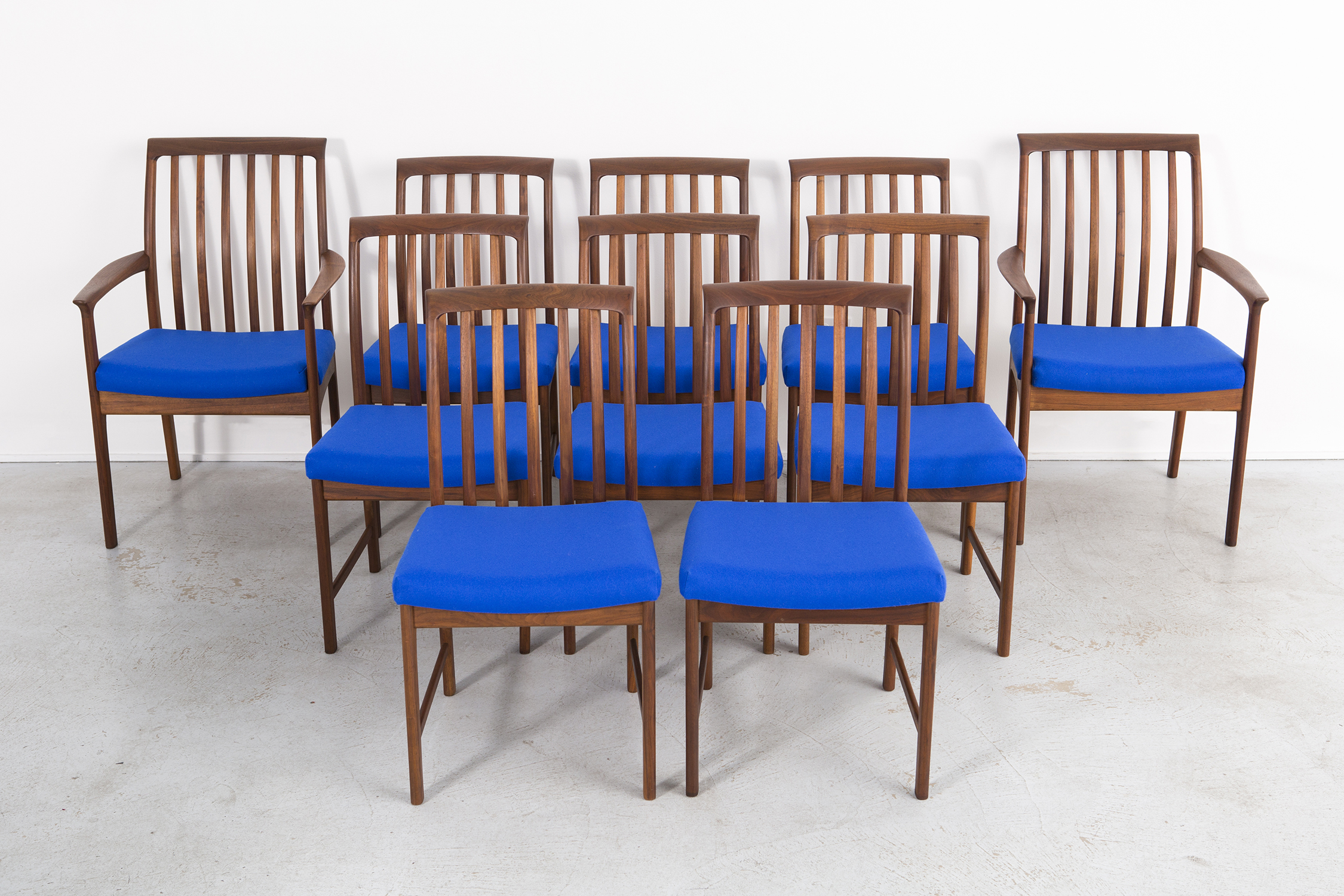 SET OF DUX DINING CHAIRS