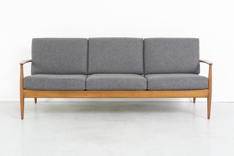 France + Daverkosen Teak Wood Sofa