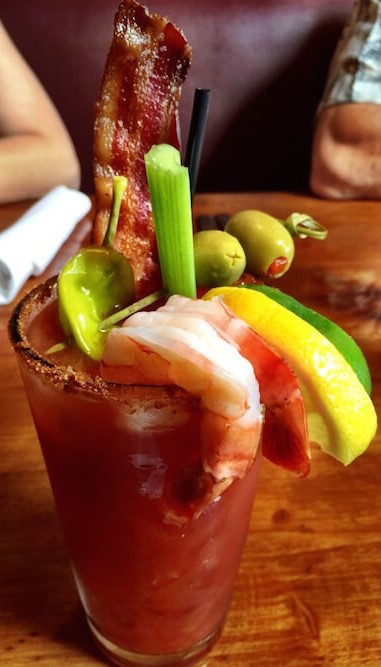 Bloody Mary...juicy burger...and some good times!!! It's Sunday at the Rathskeller!!!
