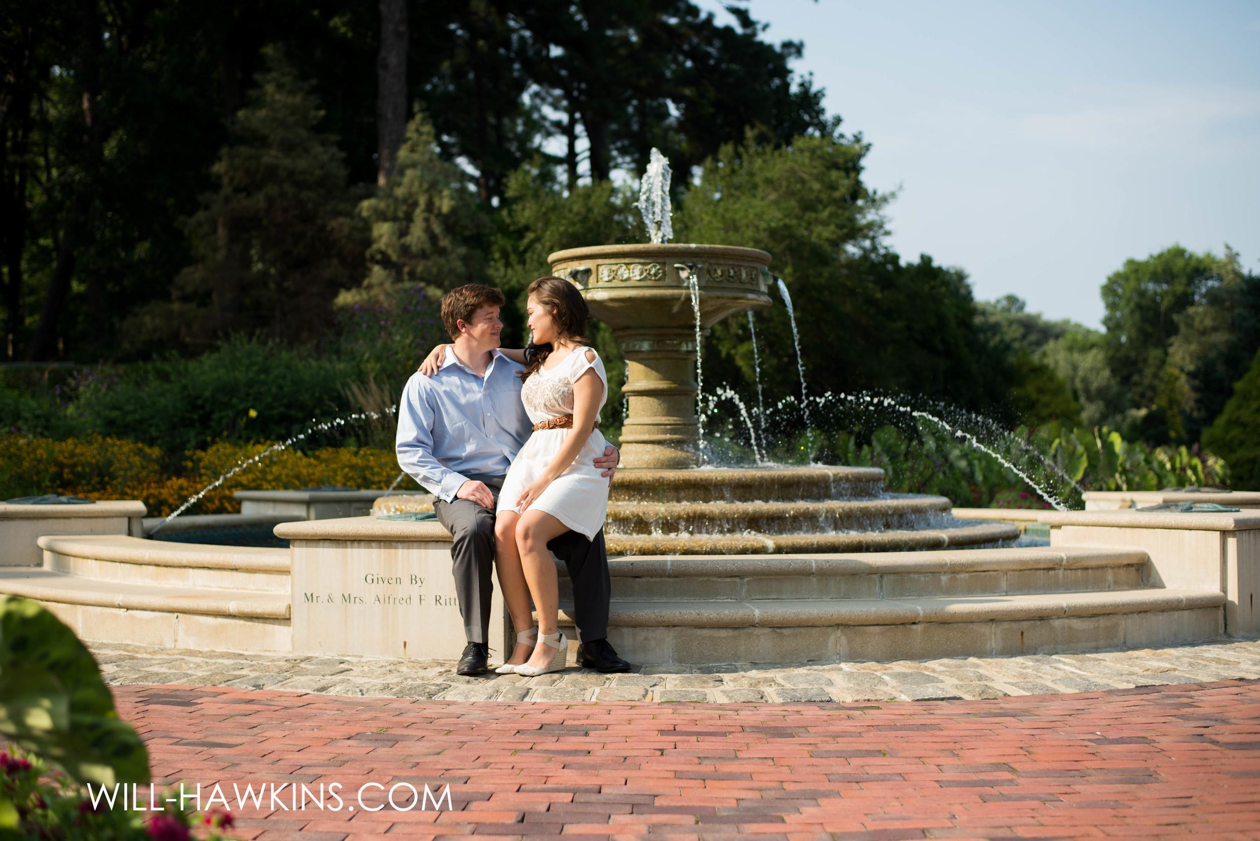 Norfolk Botanical Garden Photographer Will Hawkins Photography Engagement Photographer