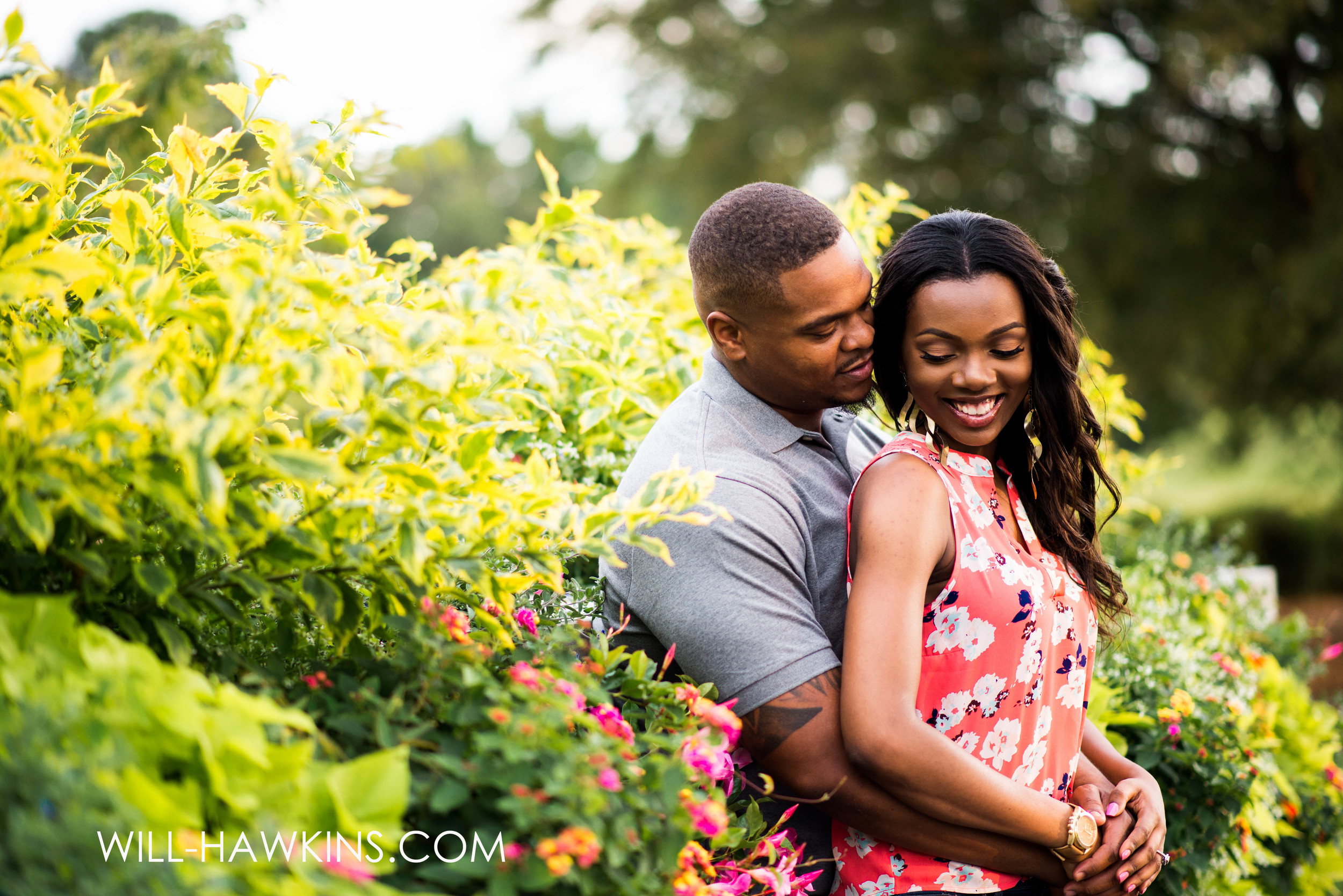 Botanical Garden Engagement Session Will Hawkins Photography Virginia Beach Engagement Photographer Norfolk Engagement Photographer