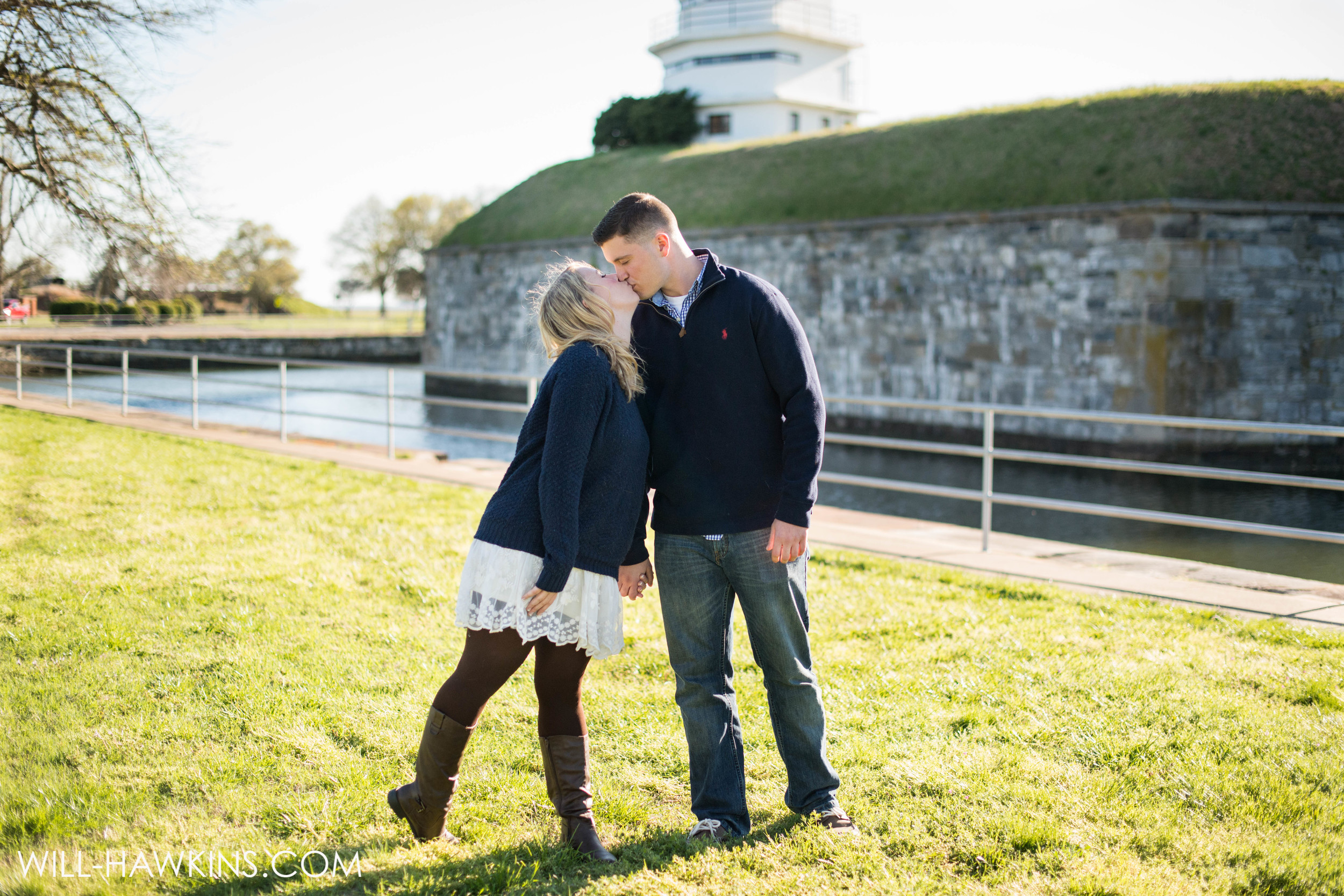 Will Hawkins Photography Hampton Wedding Photographer Virginia Beach Wedding Photographer Virginia Wedding Photographer Fort Monroe Engagement Session