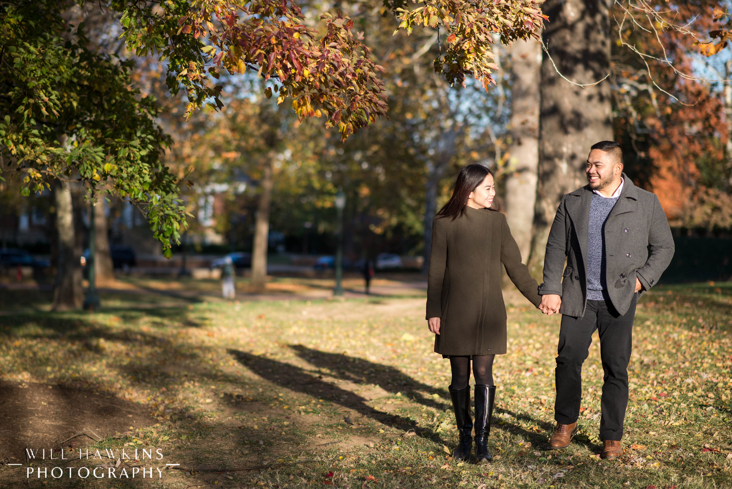 Will Hawkins Photography VCU Engagement Session Charlottesville Wedding Photographer Charlottesville Engagement Session