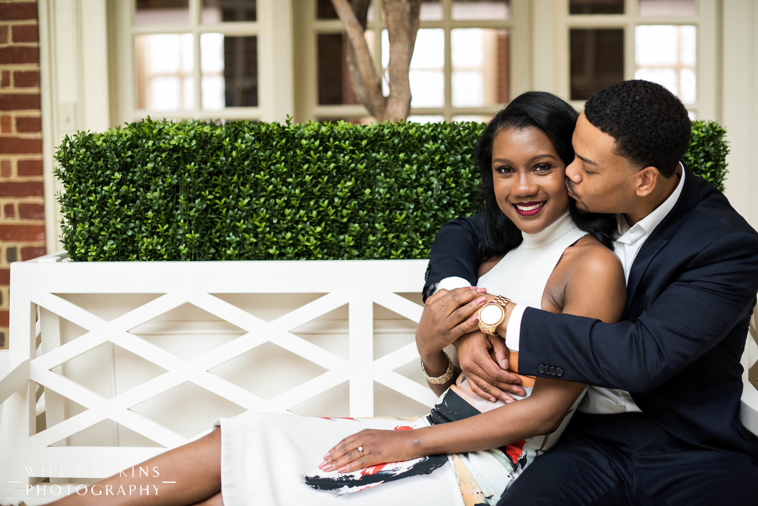 Will Hawkins Photography Downtown Norfolk Engagement Session Regent University Engagement Session Virginia Wedding Photographer