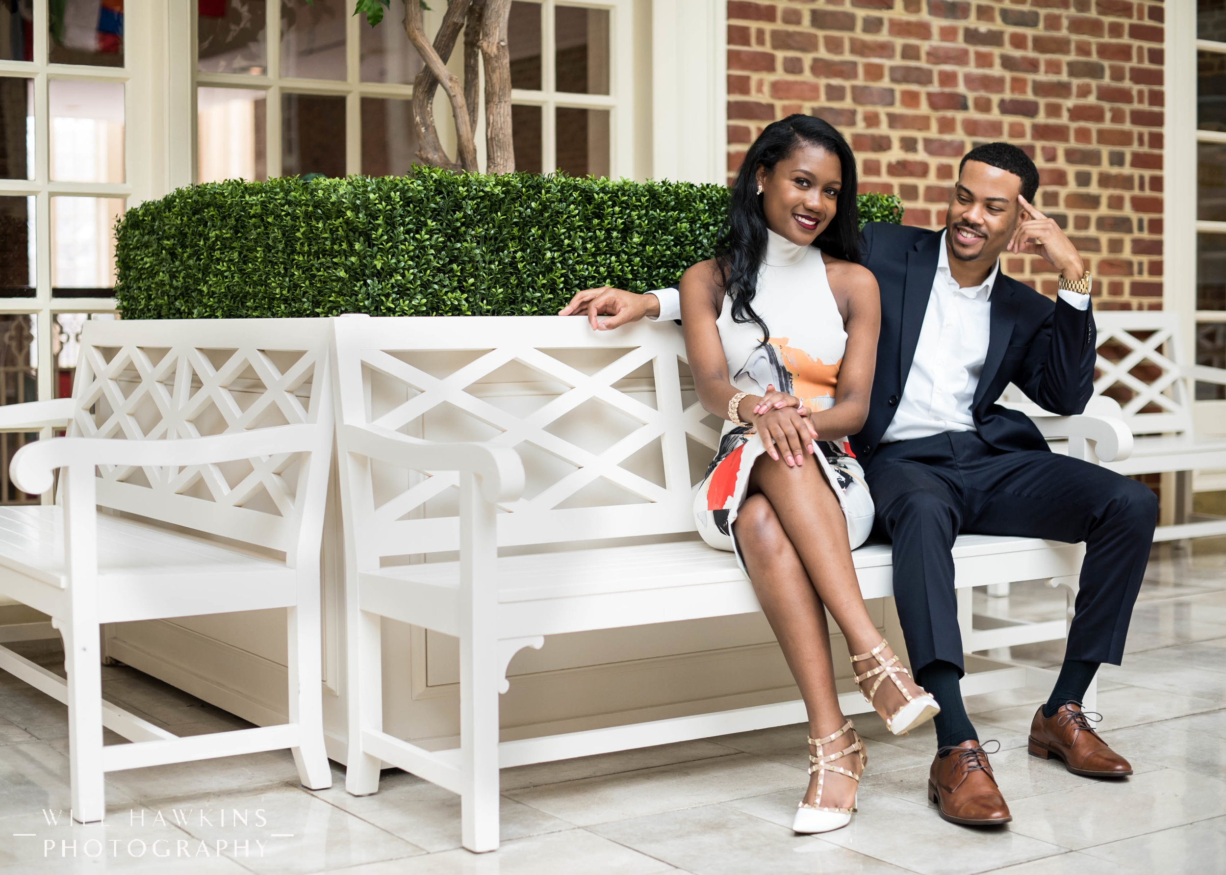 Will Hawkins Photography Downtown Norfolk Engagement Session Regent University Engagement Session Virginia Wedding Photographe