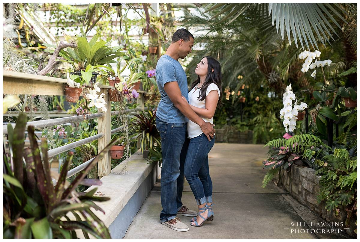 Will Hawkins Photography Virginia Wedding Photographer Botanical Garden Engagement Session Downtown Norfolk Engagement Session Norfolk Engagement Photographer