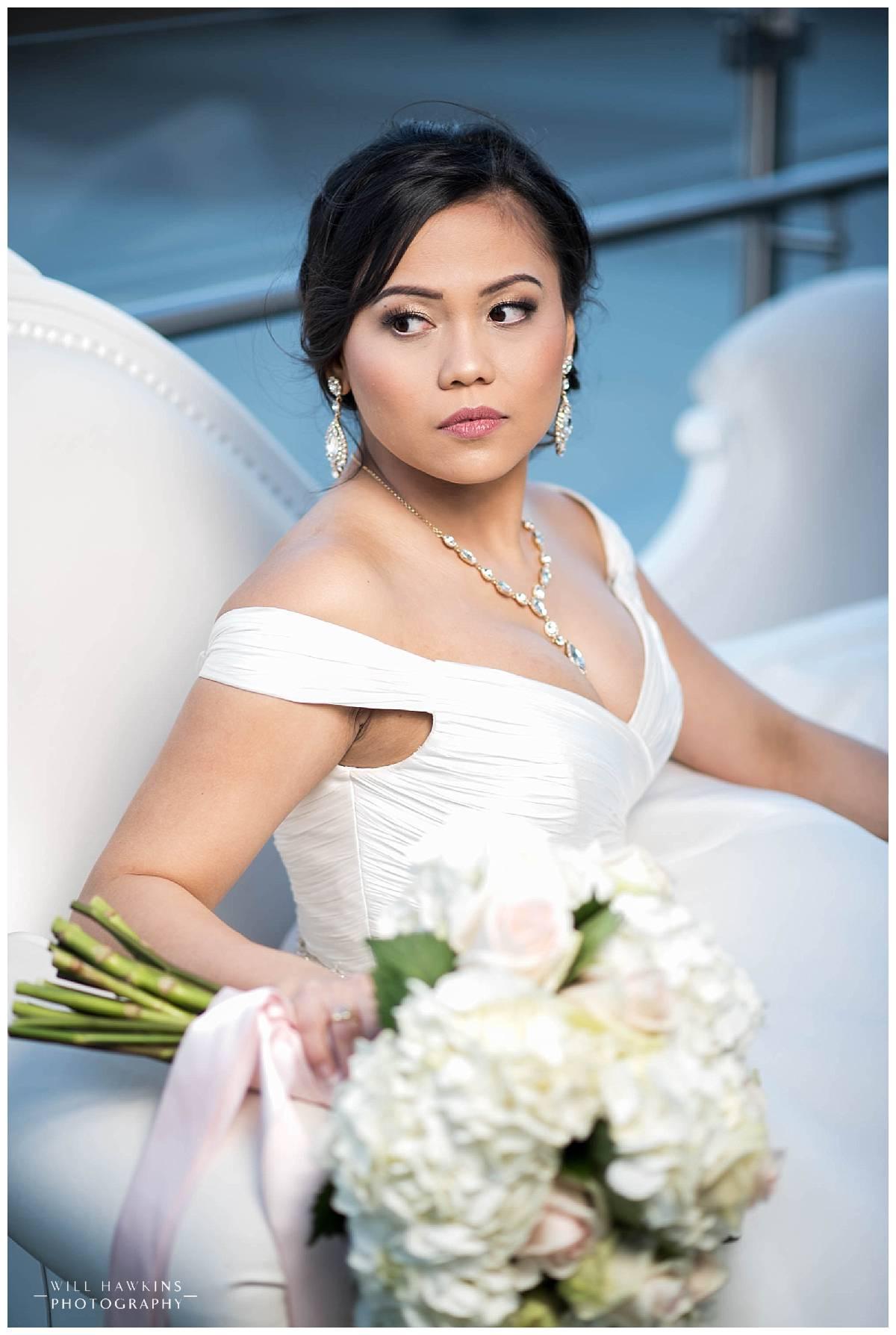 Will Hawkins Photography Bridal Portraits Hilton Norfolk Main Virginia Wedding Photographer Norfolk Wedding Photography Norfolk Wedding Photographer