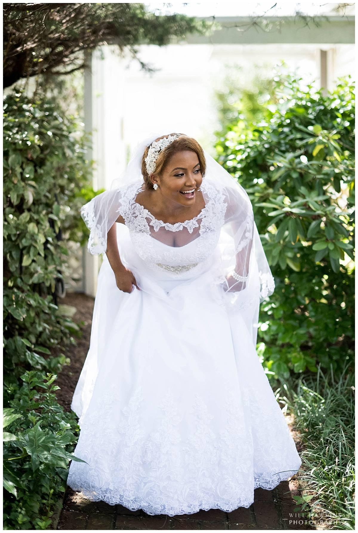 Virginia Beach Wedding Photographer Cavalier Wedding Bridal Portraits Virginia Beach