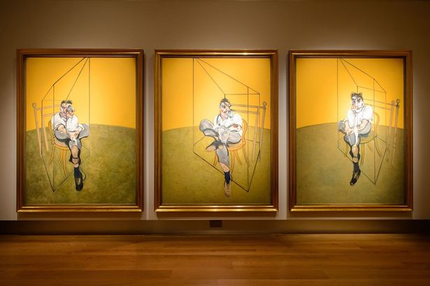 Francis Bacon 'Three Studies of Lucian Freud'
