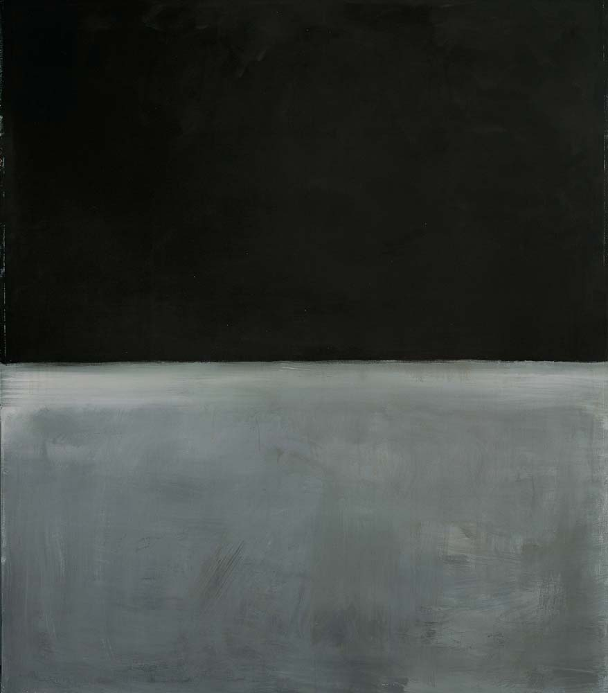 Mark Rothko,  Untitled (Black on Grey) , 1970