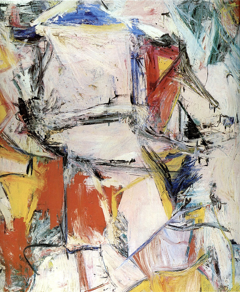 Willem de Kooning,  Interchange, 1955