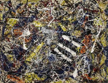 Jackson Pollock,  Number 17A , 1948