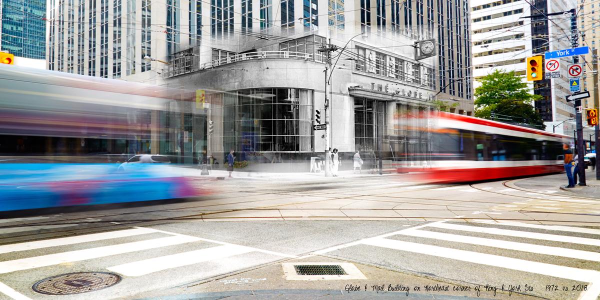 Globe & Mail Building  by Ezio Molinari
