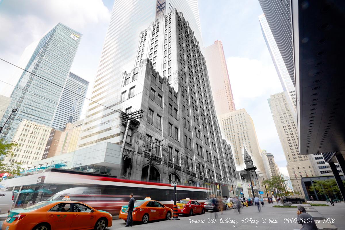 Toronto Star Building  by Ezio Molinari