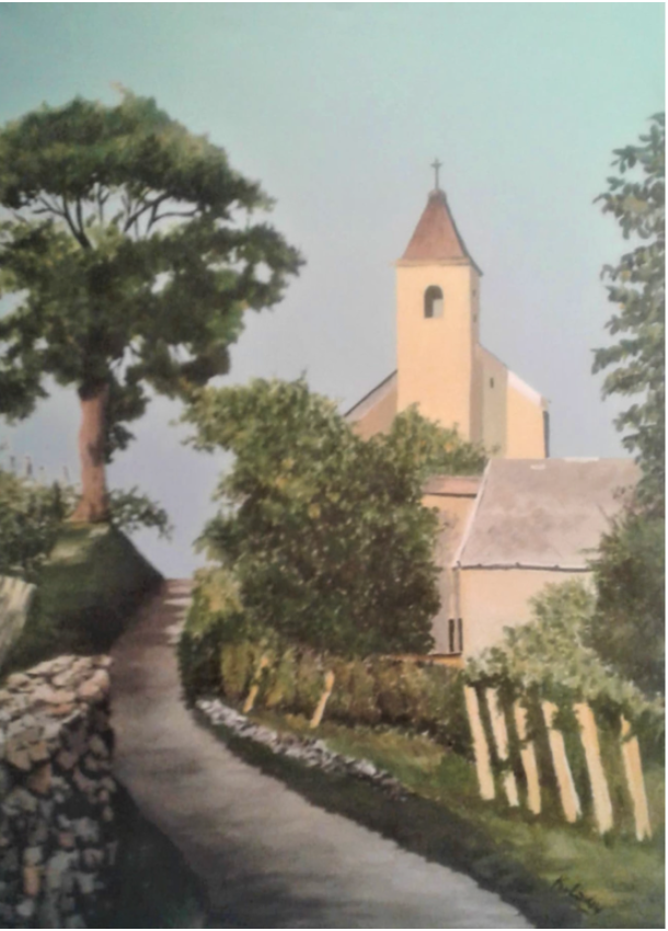 Figure 4 Margit Chapel by Katalin F. Lowy; $1,500