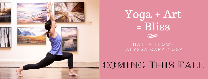 Twist Gallery is thrilled to announce that starting this Fall, we will be offering exclusive Hatha Flow Yoga classes with renowned instructor  Alyssa Cara Yoga , right here in the gallery! Yoga + Art = Bliss! Be sure to subscribe to our email list to stay up-to-date with goings on at Twist Gallery. (@twistgallery)