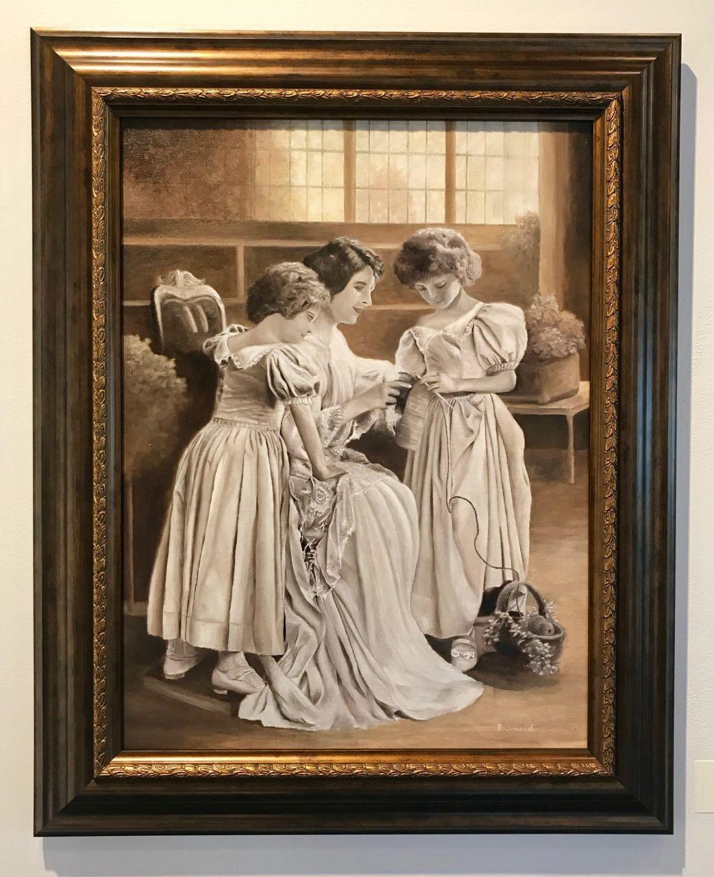 A Mother's Touch by Tyler R. Lambert