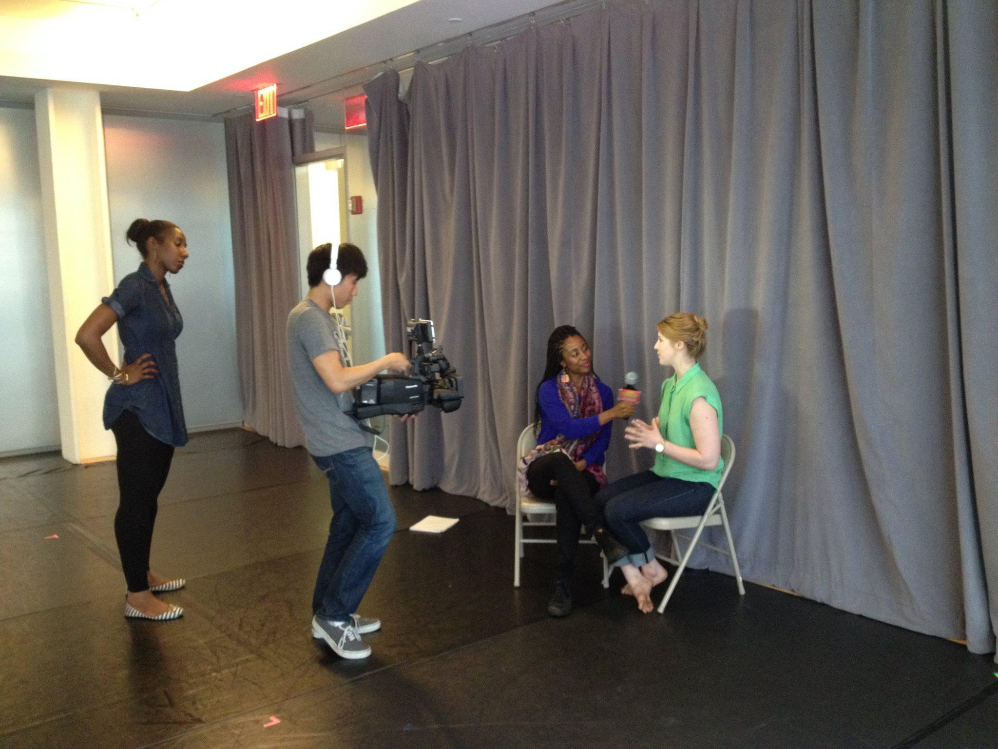 Interviewed by Lynette Nicholas for Stagebuddy.com