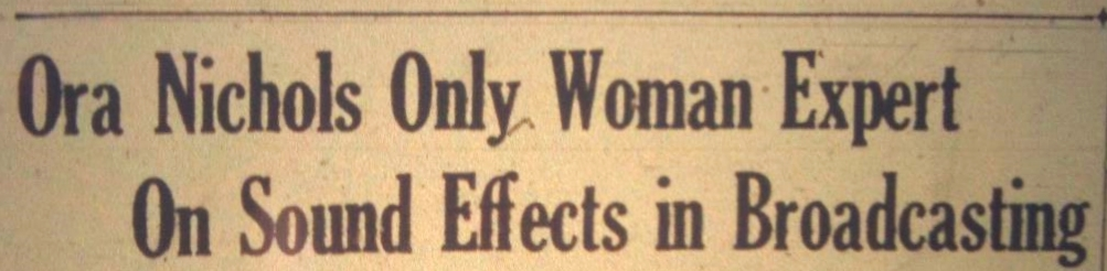 Variety  headline: January 1938. (Full article below)